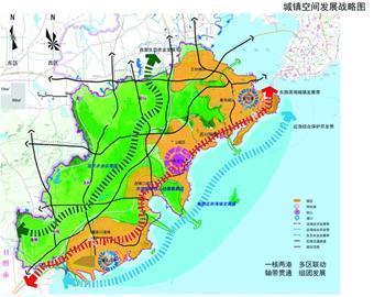 原标题:青岛西海岸新区城市规划公示 2030年常住人口410万 预测西