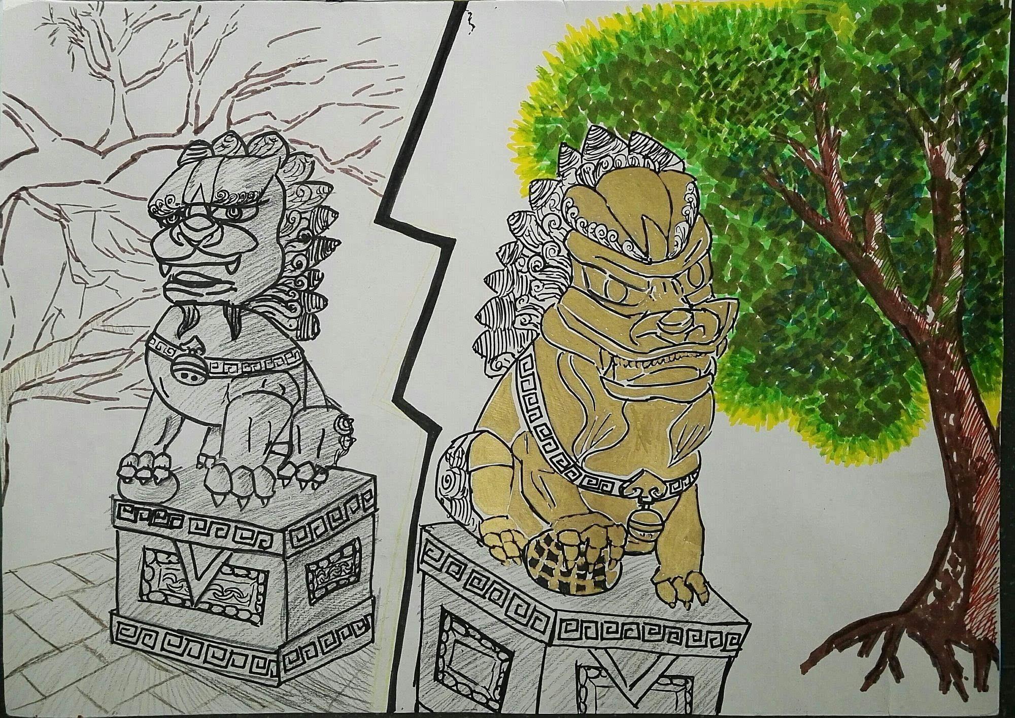 府学胡同小学方胤祺:《小学的哭泣》-搜狐外地转狮子图片