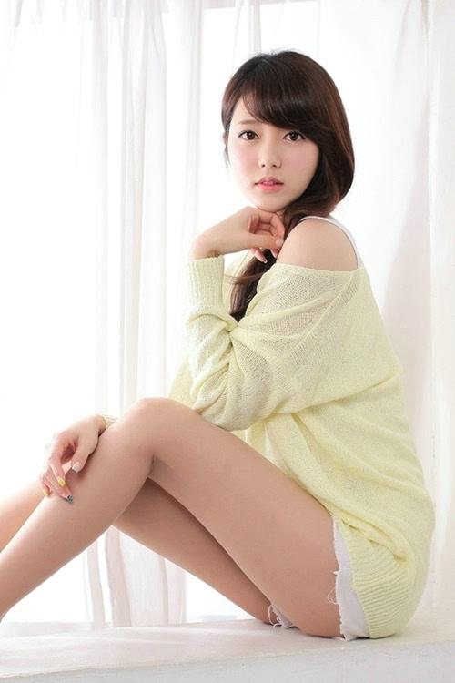 韩国美女车模Bo Mi清新私房写真