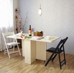 实木餐桌椅组合可伸缩折叠餐桌