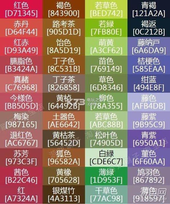 名字进行曲特效女生偶像及代码使用照片天蝎座颜色的大全图片