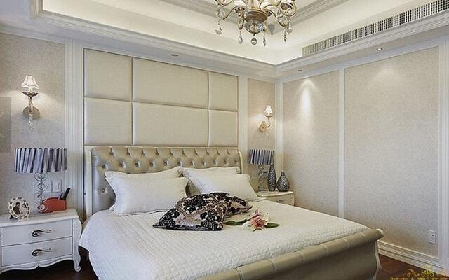 欧式床头背景墙装修效果图