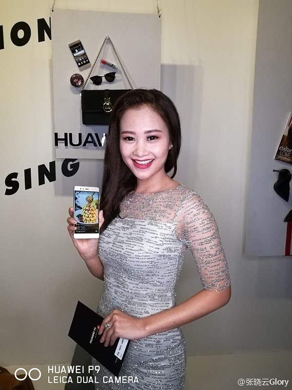 国货威武:华为P9正式登陆越南 天后级女歌手代言的照片 - 3