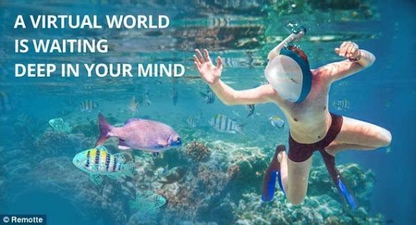 因为怕水学不会游泳?VR技术说不定能帮你的照片