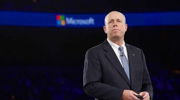 微软首席运营官Kevin Turner离职:员工们却欣喜不已的照片