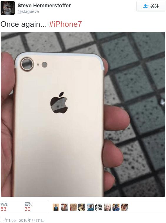 iPhone 7后壳户外曝光,美丑难以名状的照片 - 1