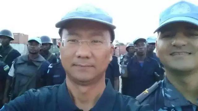 南苏丹维和部队杨树朋