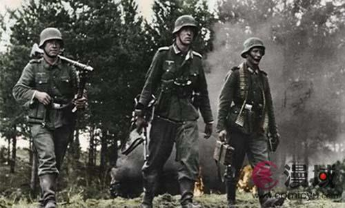 二战德国女纳粹图