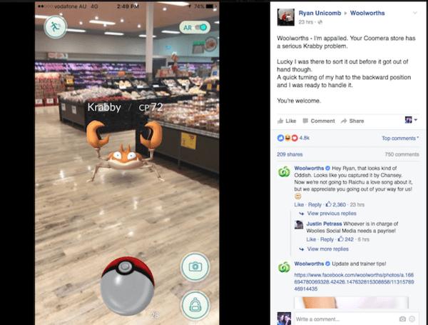 到处都在抓Pokémon小精灵,店家兴奋得不得了的照片 - 5