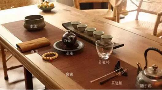 来解说一下干泡法的8个步骤,分别是备具,洁具,赏茶,投茶,洗茶,泡茶