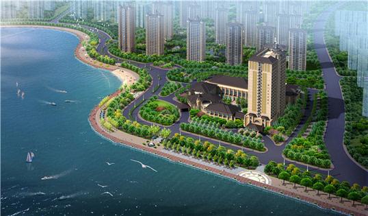 """目前对白沙湾区域已有初步规划考虑,结合机场搬迁白沙河将打造城阳区"""""""