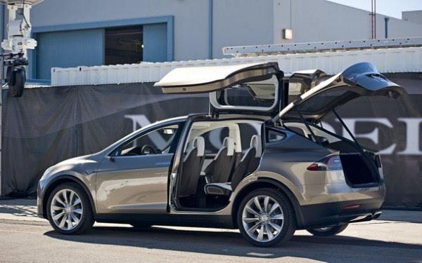 75.44万元:特斯拉发布Model X入门款SUV车型60D的照片 - 2