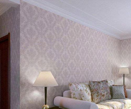 卧室墙纸颜色搭配:韩式田园墙壁纸图片,床头背景墙纸7平方大卷,装饰
