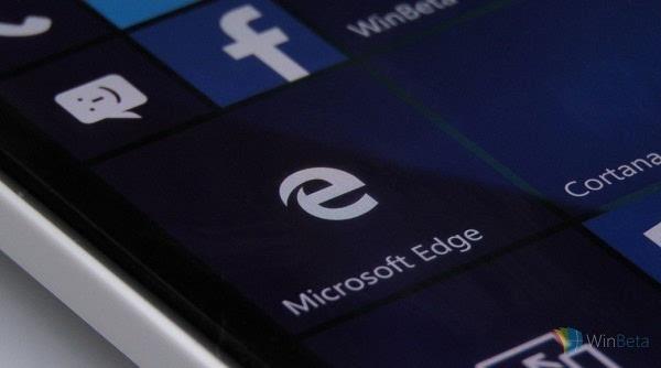 Windows 10 Mobile版Edge浏览器或无望迎来扩展功能的照片