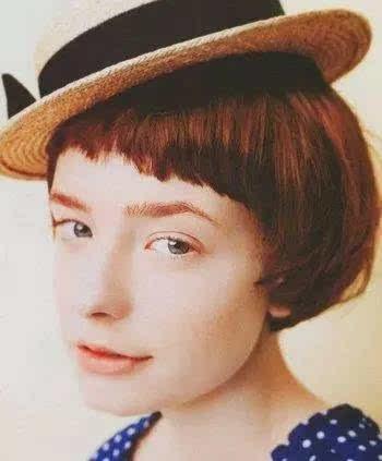 8款适合戴帽子的发型,短发配潮帽更有范儿!