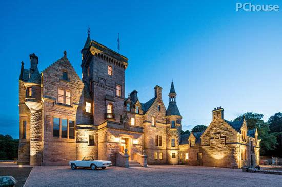 再续古堡传奇 设计大师高文安的苏格兰私家庄园