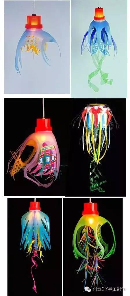 有海底生动,肯定少不了陆地上的小动物,给塑料瓶装饰成可爱