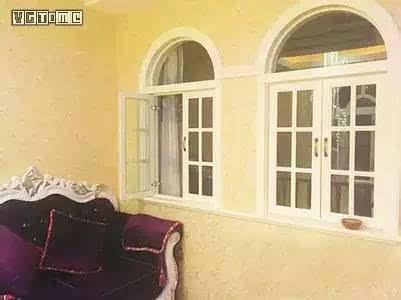 欧式弧形窗配夜总会沙发
