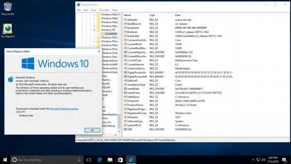 Fast通道(含PC和移动)迎Windows 10 Build 14390更新的照片 - 2