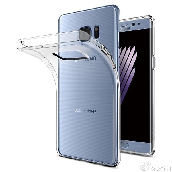 三星Galaxy Note 7渲染图曝光 来自保护套厂商的照片 - 3