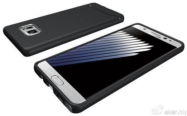 三星Galaxy Note 7渲染图曝光 来自保护套厂商的照片 - 7