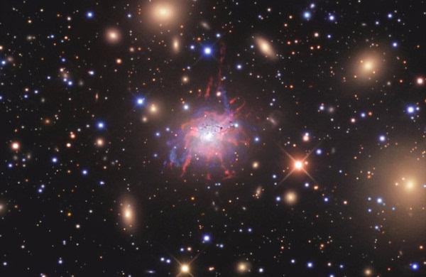 """""""瞳""""任务首次绘制出星系团炽热风的图像的照片 - 2"""
