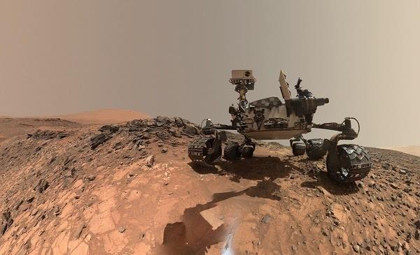美国将建火星车拟2020年发射 探寻火星生命迹象的照片
