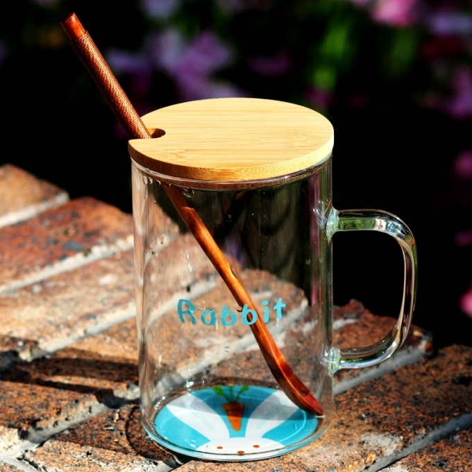 3,创意动物世界透明玻璃杯.