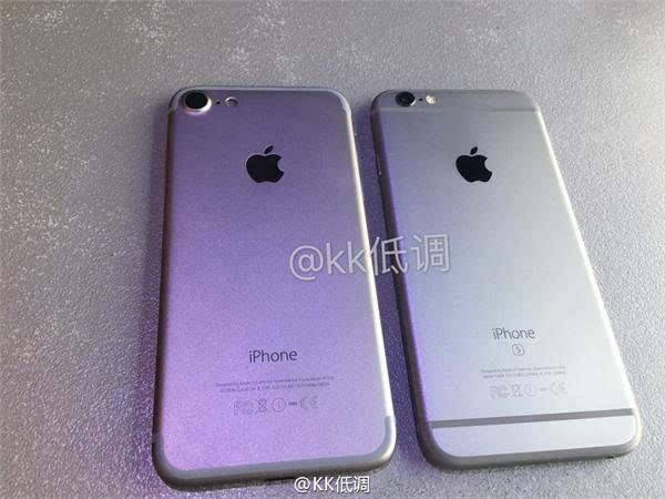 iPhone 7 模型与 iPhone 6s 对比视频的照片 - 1