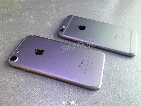 iPhone 7 模型与 iPhone 6s 对比视频的照片 - 2