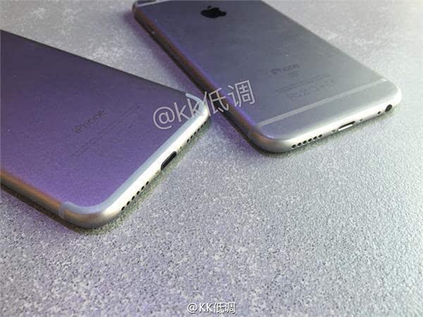 iPhone 7 模型与 iPhone 6s 对比视频的照片 - 3