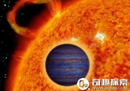 距离大约与水星,金星及地球围绕太阳的距离相同