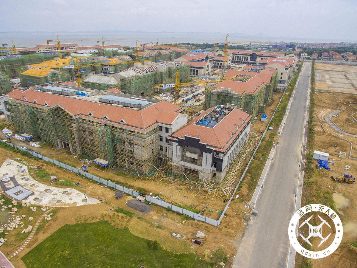 瞰青岛大项目:山大青岛校区将迎来首批学生