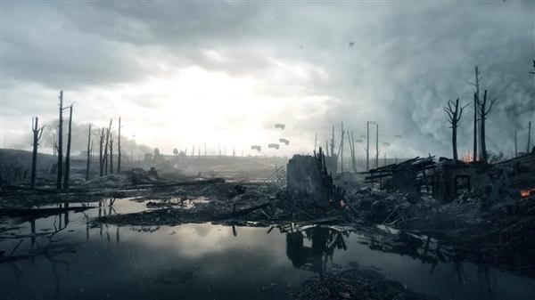 真不是电影 《战地1》动态天气展示流出的照片 - 2