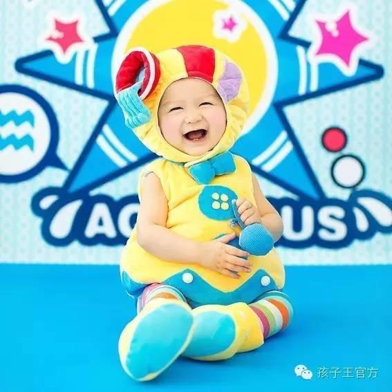 星座宝宝之 白羊宝宝  你以为本宝宝乖傻乖傻, 本宝宝只能笑你太天真图片