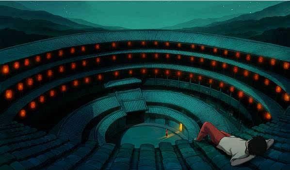 建筑结构丨中国各地民居,不止《大鱼海棠》中的福建土楼