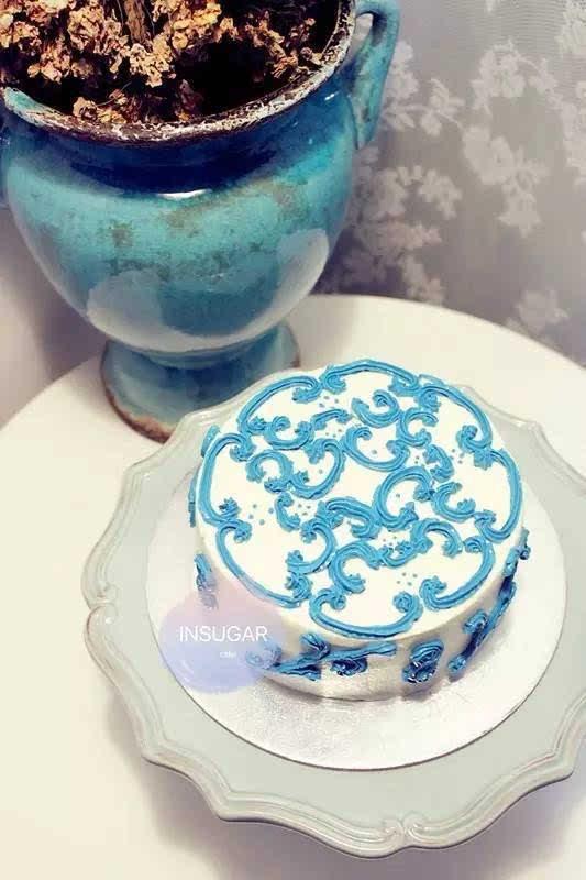师要来教大家做3D彩绘蛋糕 分享会