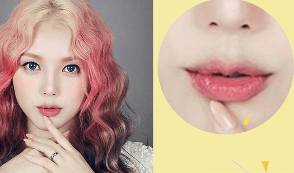【 韩国美妆达人-pony果冻唇 】 美瞳线 你看过哪个明星出门不