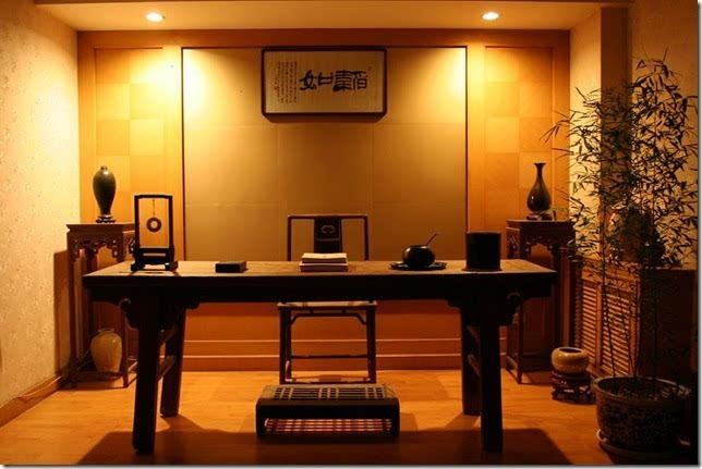 其它 正文  明式书房家装设计陈设,取均匀,平衡之美,讲究高低错落有致