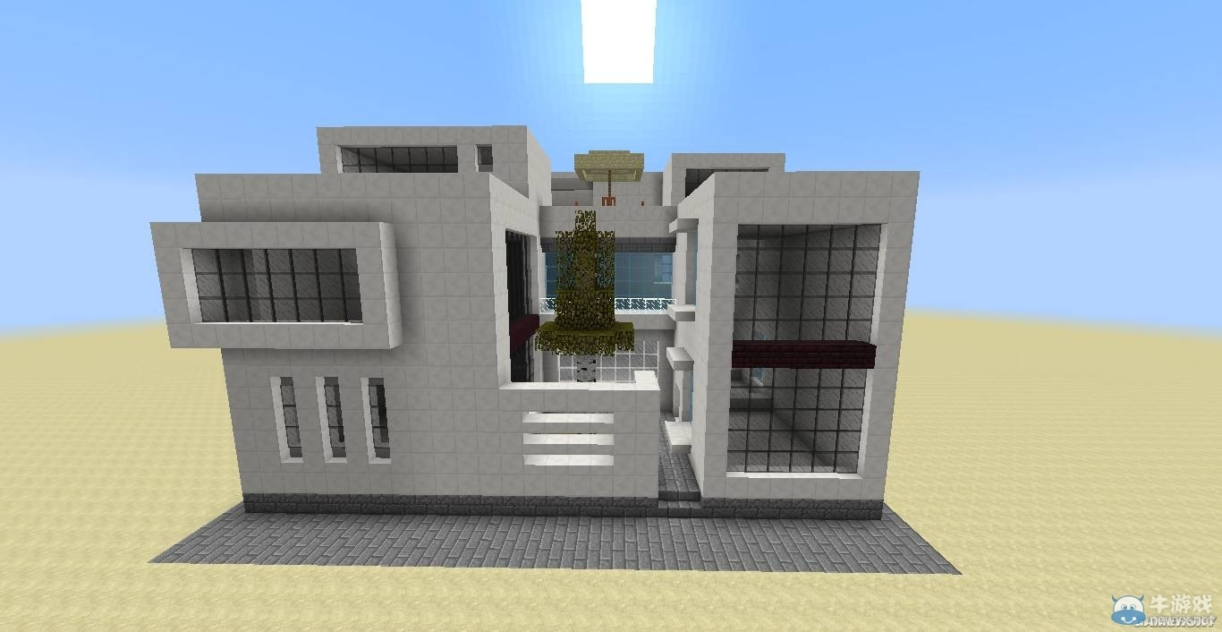 《我的世界》现代别墅制作教程