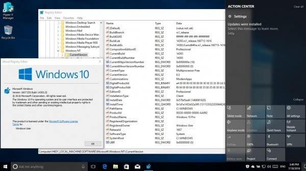 Windows 10年度更新RTM版14393推送的照片 - 4