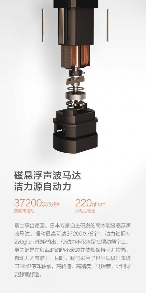 小米正式发布素士声波电动牙刷 售价229元的照片 - 2