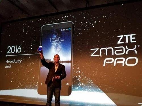 中兴发布Zmax Pro:6寸1080P、32G、指纹的照片 - 2