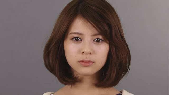日本妹子素颜和化妆后~~这区别