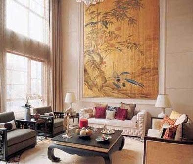 普通家庭客厅装修 中式家居的感受