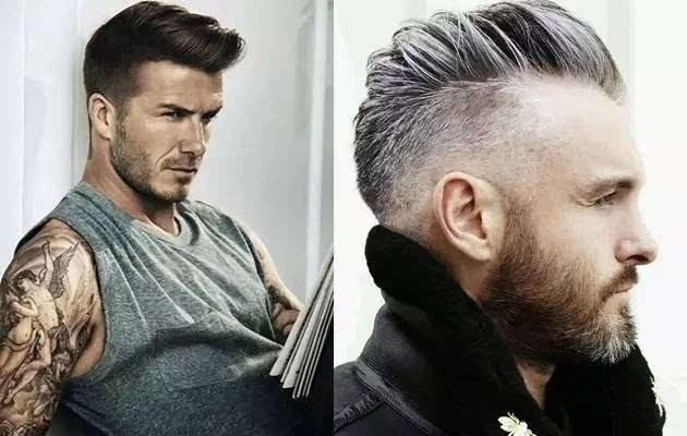 虽说undercut是上世纪二三十年代的欧美男士流行发型,现在依旧很流行图片