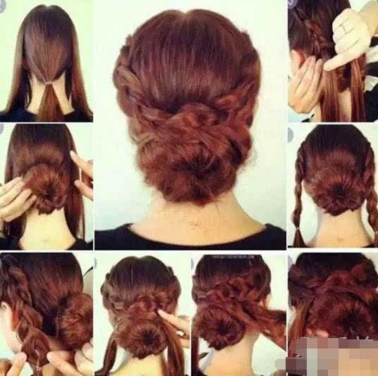 陈妍希中式新娘发型曝光 同款盘发怎么梳?图片