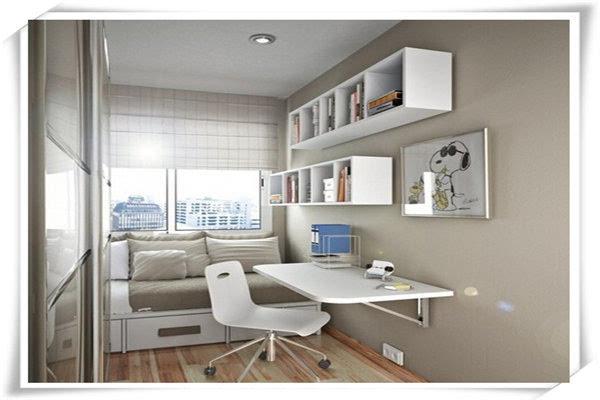 小书房装修效果图欣赏