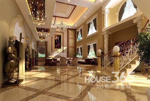 欧式客厅地砖效果图:让人向往的欧式家居