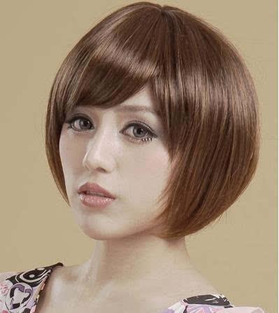 女生蘑菇头短发发型图片图片